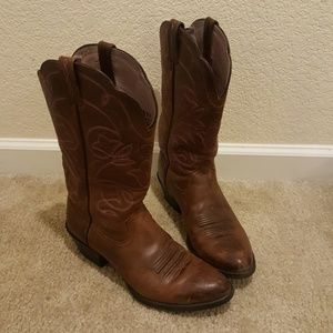 Ariat Brown Cowgirl Boots